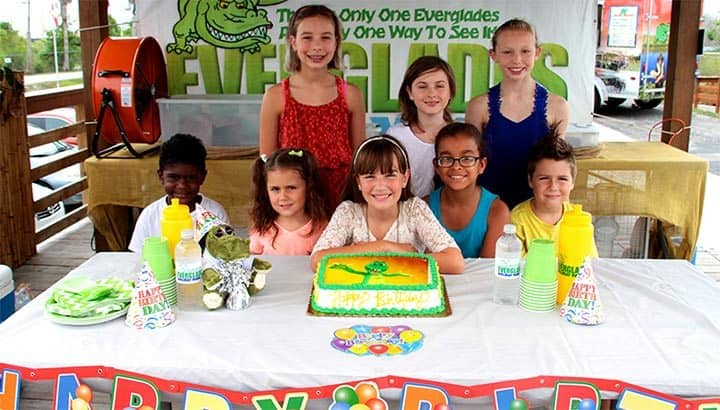 Everglades Birthday Parties