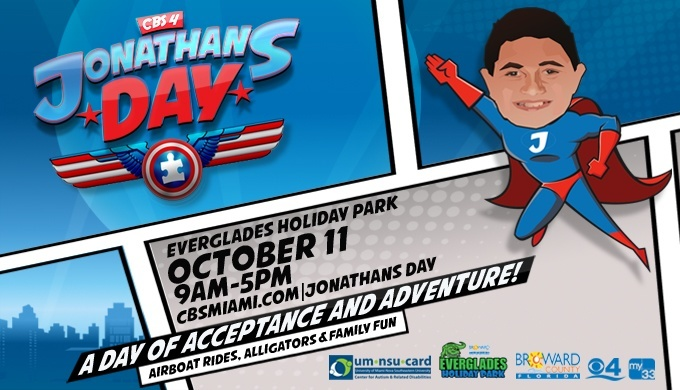 Jonathans Day - Everglades Holiday Park
