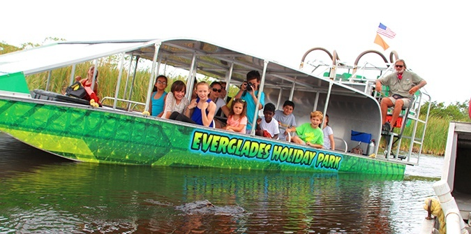 Airboating anyone? - Everglades Holiday Park