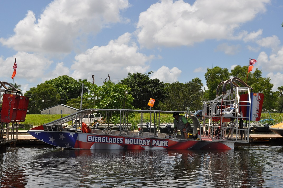 Celebrate With a 4th of July BBQ at Everglades Holiday Park