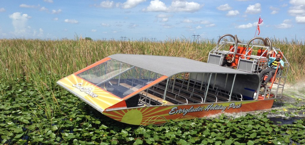 Air Boating in Florida is a Popular Recreational Activity