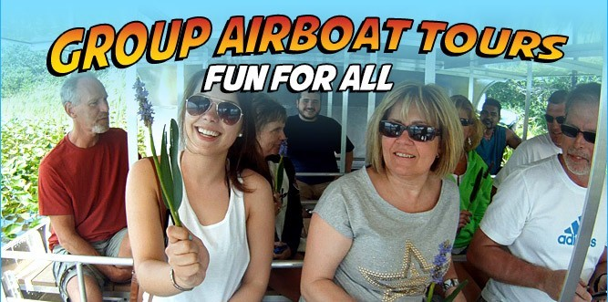 Group Airboat Tours | Everglades Airboat Tours
