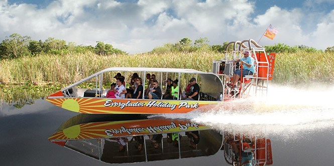 Everglade airboat tour