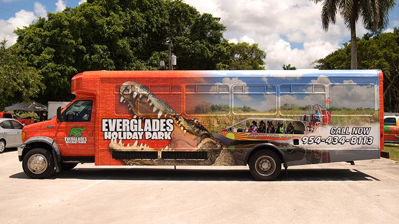 EHP Provides Everglades Tours with Transportation