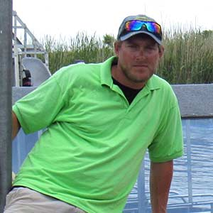Chris Floreno - Airboat Tour Captain at Everglades Holiday Park