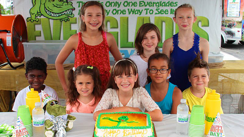 Kids' Birthday Parties at Everglades Holiday Park