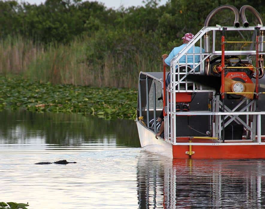 Another Name for Airboat: Swamp Boat - Everglades Holiday Park