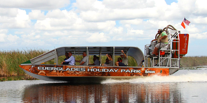 Everglades Airboat Tours Are A Perfect Fall and Winter Activity - Everglades Holiday Park