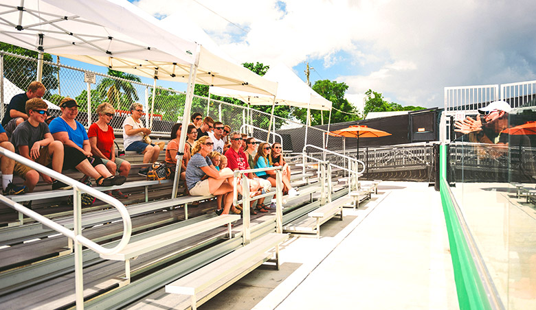 Everglades Holiday Park Unveils Shaded Seating for Live Gator Shows