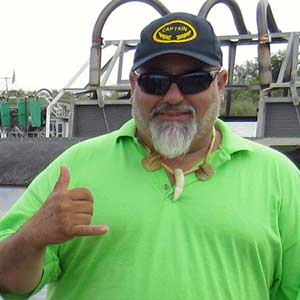 Leo Marquez - Airboat Tour Captain at Everglades Holiday Park