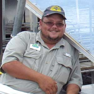 Justin Scott Rust - Airboat Tour Captain at Everglades Holiday Park
