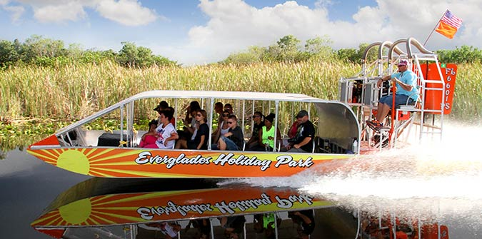 See the Everglades Up-Close with Everglades Airboat Rides - Everglades Holiday Park