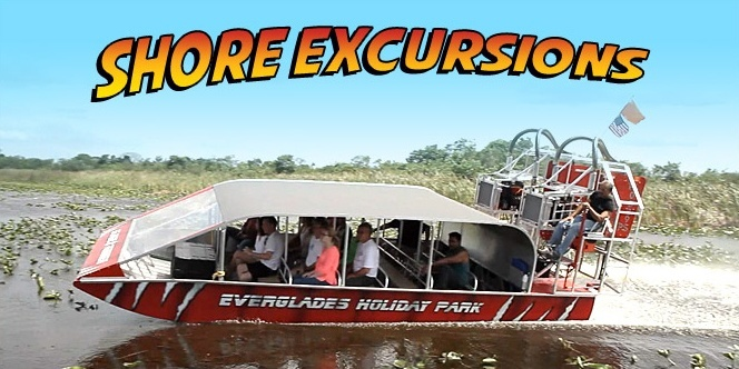 Shore Excursions Ft Lauderdale | Shore Excursion Miami | Everglades Holiday Park