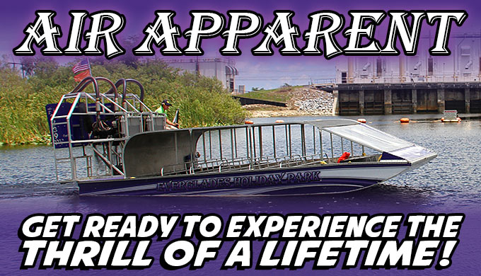 Air Apparent Everglades Airboat Rides - New Airboat