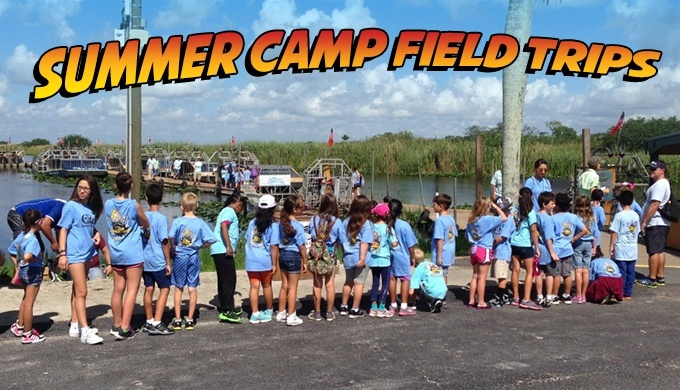 Everglades Summer Camp Field Trips At Everglades Holiday Park
