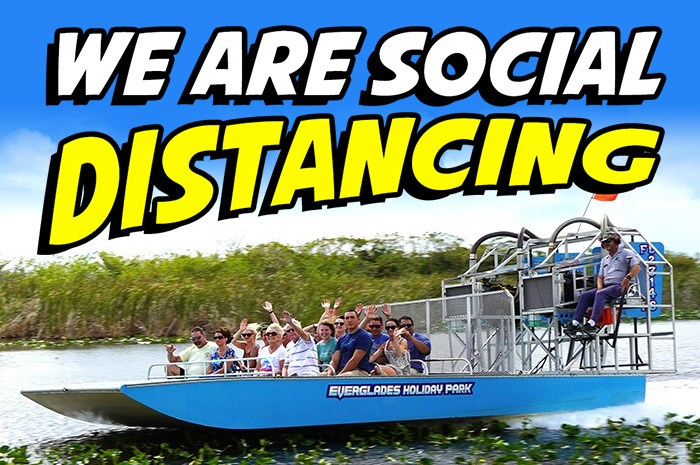 Everglades Holiday Park Re-Opening after 2 months due to COVID-19