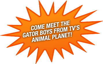 Come Meet the Gator Boys from TV's Animal Planet