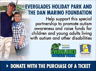 Dan Marino Foundation and Everglades Holiday Park | Everglades Airboat Tours