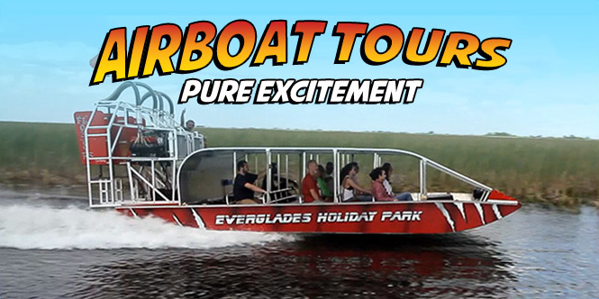 Everglades Airboat Tours | Private Airboat Tours | Group Airboat Tours