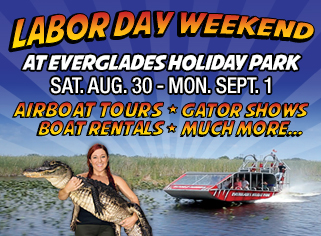 Everglades Holiday Park and the Dan Marino Foundation Partnership