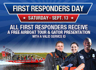 First Responders Day at Everglades Holiday Park