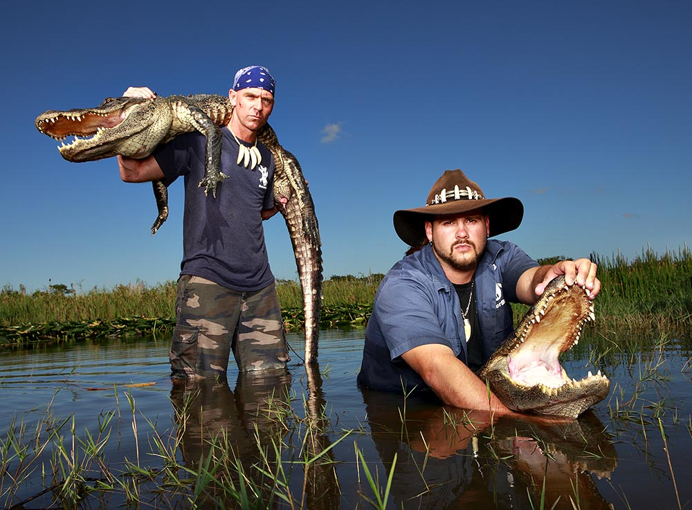 Meet the Gator Boys at South Florida's Everglades Holiday Park